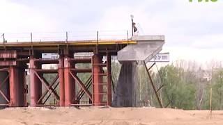 Медленно, но верно. Строительство Фрунзенского моста перевалило за середину