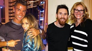 When Celebrities Meet Their Favourite Football Players