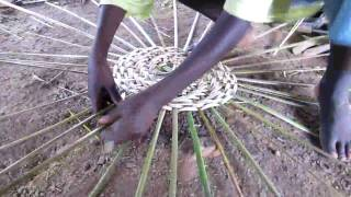 preview picture of video 'Basket Making in Sierra Leone'