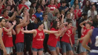 NFA fans energize the undefeated Wildcats
