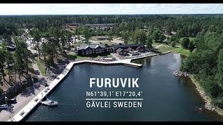 Safe approach to Furuvik port in Gävle, Sweden