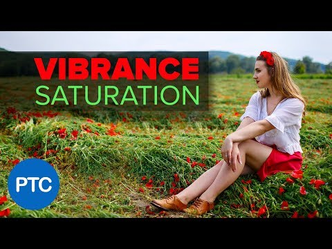 The DIFFERENCE Between Vibrance and Saturation in Photoshop – COLOR ENHANCING Tutorial