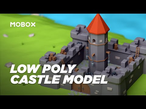 How to Model an Adorable Castle – Cinema 4D Tutorial