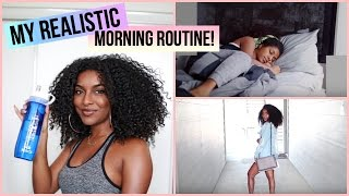 My Realistic Morning Routine 2017! | naturalneiicey