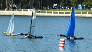 preview picture of video 'Kaliningrad 2014 - mistrovství Evropy Naviga lodních maket NS'