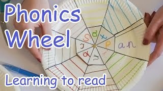 Phonics Wheel  |  Learning to Read