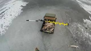 зимняя рыбалка на волге 2018