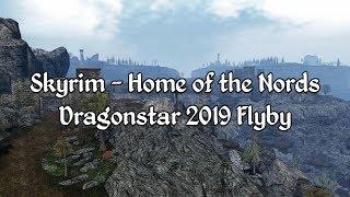 Skyrim - Dragonstar 2019 Flyby - A Morrowind Mod