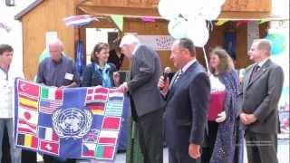 preview picture of video '34. Internationales Strassenfest Starnberg - Eröffnungsrede Landrat Karl Roth mit Sektempfang'