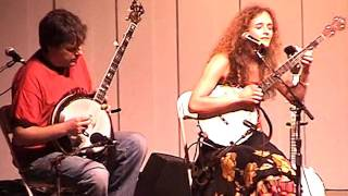 "Abigail Washburn and Sparrow Quartet 7/19/07 ""Santa Anna's Retreat~Kitchen Gal"" Grey Fox"