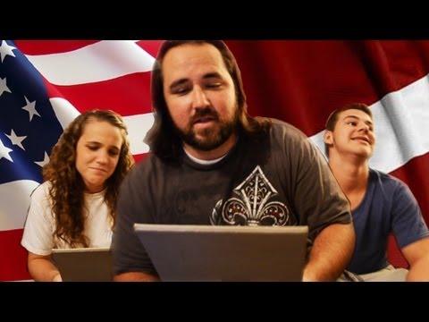 Amerikāņi runā latviešu valodā