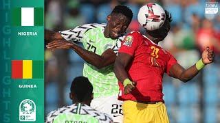 HIGHLIGHTS: Nigeria vs. Guinea