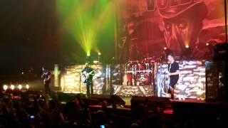 preview picture of video 'Volbeat - Ring of Fire intro to Sad Mans Tongue Live'