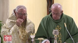 Papa e Patriarca greco-melquita concelebram na Santa Marta