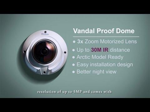 GeoVision - New-breed IR GV-VD Camera