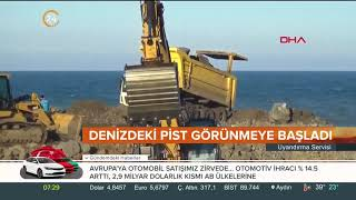 Gambar cover Türkiye ikinci kez deniz üzerine havalimanı inşa ediyor