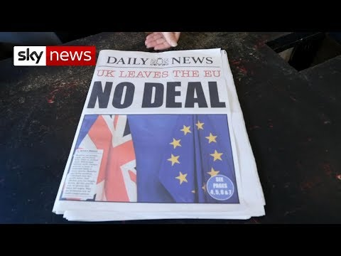 What could a 'no deal' Brexit mean?