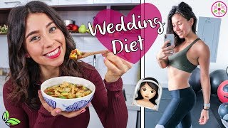 WHAT I EAT IN A DAY - WEDDING DIET 💒Yovana