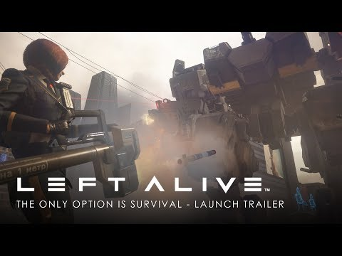 Trailer de lancement de Left Alive