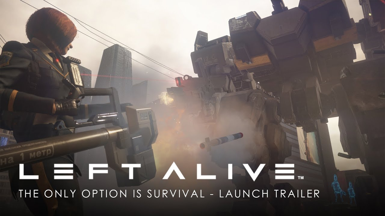 Video LEFT ALIVE MECH EDITION [PS4]