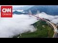 Γέφυρα για τολμηρούς: Οδηγώντας 565 μέτρα πάνω από το έδαφος