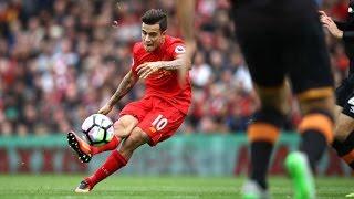 Philippe Coutinho goal vs Hull |HD| 1080p