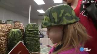 Military Kids Get To Experience Deployment