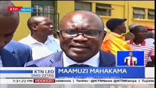 Mahakama kuu ya Busia latupilia mbali kesi ya tume ya IEBC na la wakili wa gavana Sospeter Ojaamong