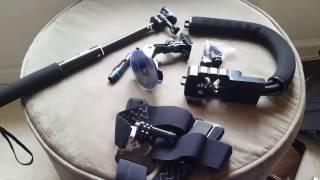 Costco! Sunpak Action Cam Accessory kit  $10!!!(GoPro, Sony, camera accessories)