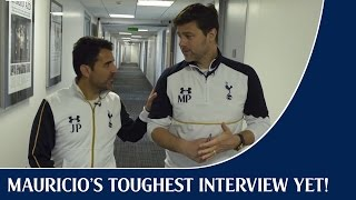 Mauricio's toughest interview yet!