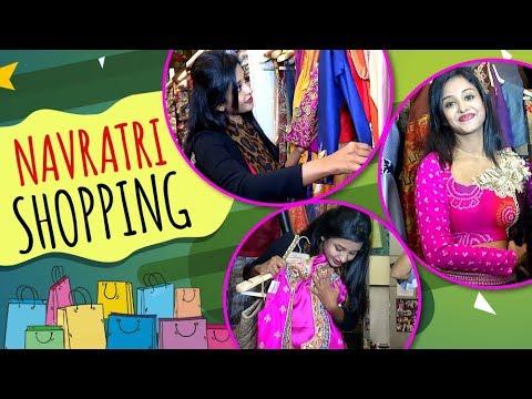 Tina Ann Philip aka Aastha shops for Navratri Dres