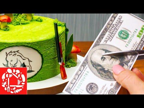 Идеи украшения мужских тортов