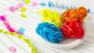 ПАСХАЛЬНЫЕ ЯЙЦА из резинок на крючке | EASY Rainbow Loom Easter Egg Charm