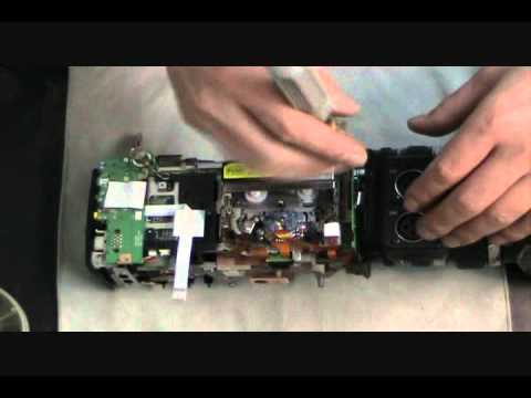 Canon XHA1 - How to Disassemble - Repair Video