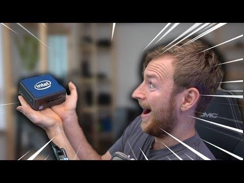 Klein, aber kräftig! | INTEL NUC Mini PC Review