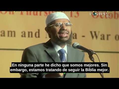 ¿Decimos Que Somos Mejores Que Los Cristianos?-Zakir Naik