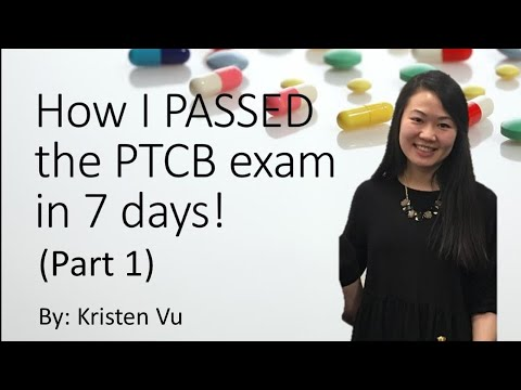 How I PASSED the PTCB exam in 7 days & things I wish I knew ...