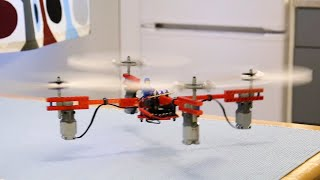 Making a Drone with Lego Motors and Propellers