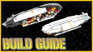 INSTRUCTIONS: Star Wars GR-75 (Part 2/2)