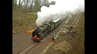 preview picture of video 'Bluebell Railway Crew Training between Kingscote and East Grinstead Sunday 17th March 2013'
