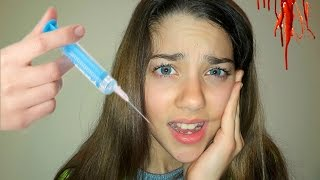 VLOG: ПОХОД К СТОМАТОЛОГУ ! ВЫРЫВАЕМ ЗУБ ! Going to the dentist !