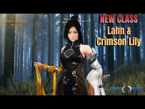 Black Desert Mobile Puts Combat on Display for New Class Lahn and Crimson Lily