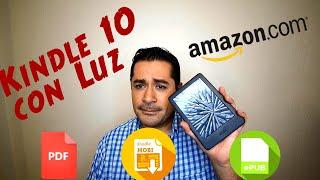 Kindle 10 2019 nuevo lector de libros con Luz - Agrega todos tus libros en otros formatos