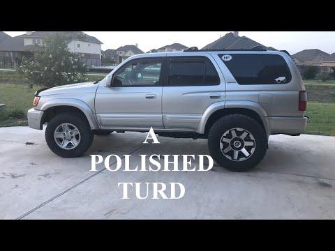 TRD Wheels on 3rd Gen 4Runner - Polishing a Turd - JN33