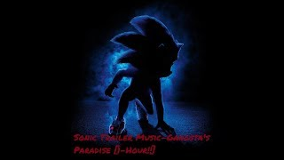 SONIC: The Hedgehog Trailer song - Gangsta's Paradise [1 HOUR]