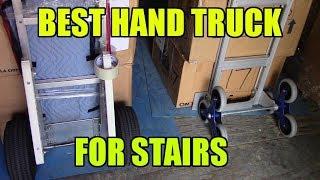 Best hand Trucks For Stairs 2018 so far