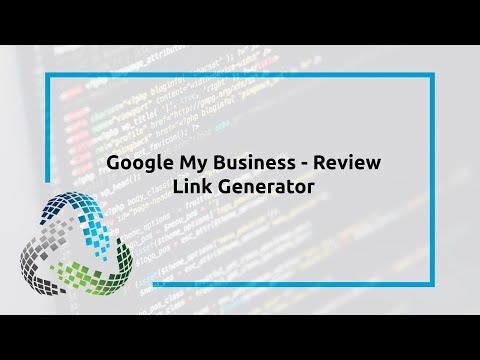 Google My Business – Review Link Generator