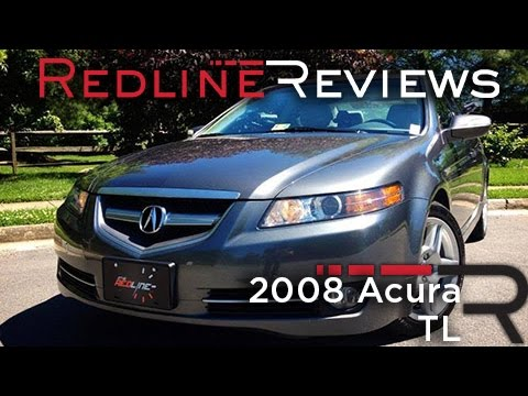 2008 Acura TL Review, Walkaround, Exhaust & Test Drive