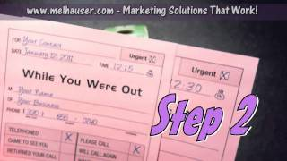 Sales Prospects - Sales Lead to Sales Call - 4 Step Marketing System Close Up