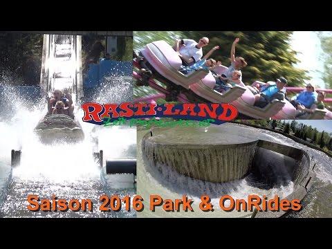 Rastiland 2016 - Park - Fahrgeschäfte - OnRides - Rasti-land - Parkvideo 2016 Niedersachen